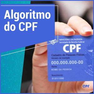 algoritmo do cpf