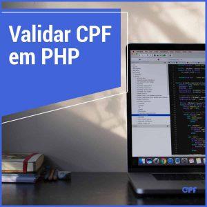código em PHP para validar cpf